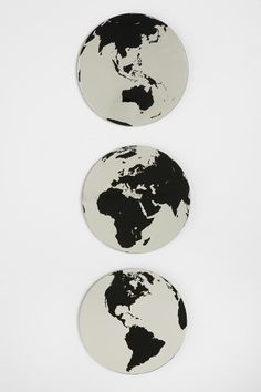 Globe Mirror - Set Of 3   I want my small space to be AWESOME. I entered the #UrbanOutfitters Pin A Room, Win A Room Sweepstakes! #smallspace