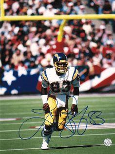069f8193a5 Autographed John Jefferson San Diego Chargers Running Back, Vintage  Football, Football Boys, Football