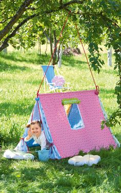Творческое лето. Игровые палатки для девочек