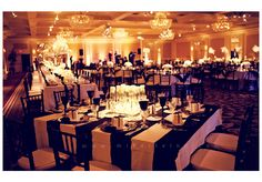 black and white wedding but I would add some hot pink accents Wedding Ties, Wedding Reception, Our Wedding, Dream Wedding, Wedding Dreams, Wedding Table Flowers, Wedding Decorations, Costume Party Themes, Golden Birthday Parties