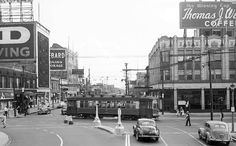1937. Sheridan. Looking North from Lawrence.