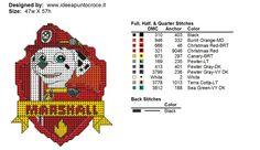 Billedresultat for paw patrol perler beads Cross Stitch For Kids, Cross Stitch Baby, Cross Stitch Charts, Cross Stitch Patterns, Beaded Cross Stitch, Crochet Cross, Cross Stitch Embroidery, Paw Patrol, Disney Stitch