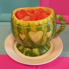 Pretty and yummy, great food for your Mad Hatters Tea Party