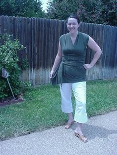 NO-SEW Infinity Wrap Shirt!!! NOW with MINI-TUTE and PICS!!! - CLOTHING