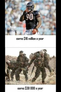 ... You know how much I love my Baseball but seriously.... Athletes are very overpaid!