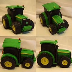 How To Make A Rice Krispie And Fondant Tractor Fondant