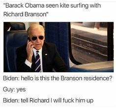 LOL Political Hilariously Funny New Political Memes-Trump-Michelle-Pence-More LOL Political Memes When you need to LOL there is no shortage of memes of our favorite political peopl Joe And Obama, Obama And Biden, Joe Biden, Election Memes, 2016 Election, Dankest Memes, Funny Memes, Fandom Memes, Funny New