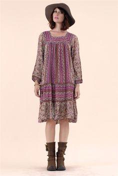 Marigold Bohemian Dress