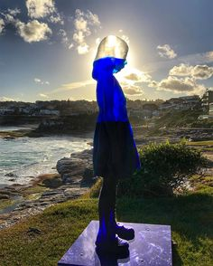Recently on view as part of Sculpture by the Sea in Bondi, this unusual figurative sculpture by artist Alessandra Rossi seems to have captured the imagination of many, becoming one of the most popular pieces of this year's exhibition. Titled Untitled (coral), Rossi says the piece depicting a solitar