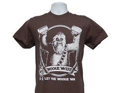Chewbacca (Men's 2X-Large) Wookie Wheat Craft Beer T-Shirt Star Wars
