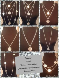 Stunning! So many ways to wear this beautiful necklace.  #jewellery #2015 Jewelryladykim.mypremierdesigns.com. Access code 4214 #pdstyle