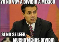 Dividir a México,jamás