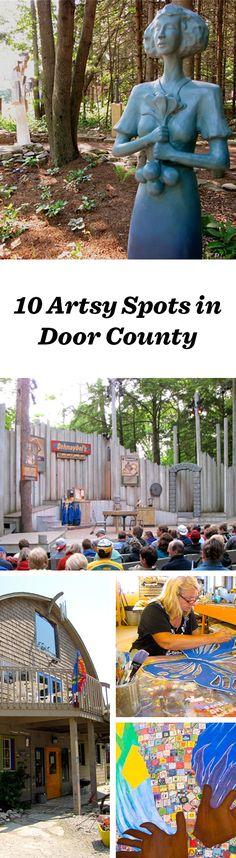 Tap Door County's artsy spirit: http://www.midwestliving.com/blog/travel/tap-door-countys-artsy-spirit/
