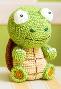 Amigurumi: Schildkröte Gina zum Häkeln - Häkelanleitung via Makerist.de