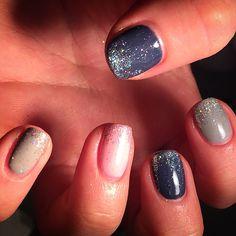 Winter sparkles nails by me caz x Nails 2016, Sparkle Nails, Sparkles, Winter, Winter Time, Winter Fashion, Shiny Nails