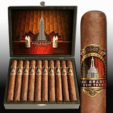 Alec Bradley New York Exclusive Cigars - Only 1,000 boxes produced. http://www.absolutecigars.com/alec-bradley-new-york-robusto.html