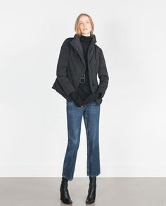 Image 1 of TAILORED QUILTED COAT from Zara