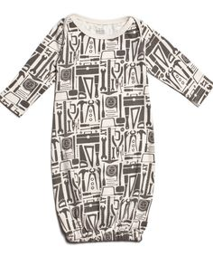 Tools baby gown  twocrowsforjoy.com #madeinUSA