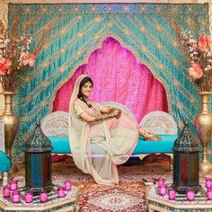 Picture Perfect.  Great idea for an event at your house.  #wedding #weddingdecor #backdrop  #weddingdesign #wedding #indian #love #instalove #fashion #desicouture #desiglam