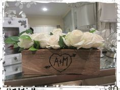 Rustic/chic shower theme - I have a wood burning pen we can use to make something like this Wood Burning Pen, Flower Pens, Rustic Chic, Alice In Wonderland, Crafty, Shower, Canning, How To Make, Diy
