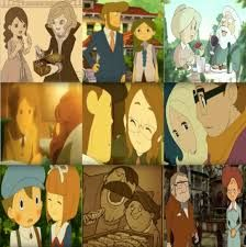 The Professor Layton couples!