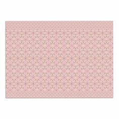 KESS InHouse Carolyn Greifeld 'Modern Shabby' Pink Abstract Dog Place Mat, 13' x 18' -- To view further, visit now : Dog food container