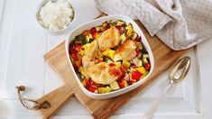 Kyllingfilet i grønnsaksform Ratatouille, Tin, Ethnic Recipes, Food, Pewter, Essen, Meals, Yemek, Eten
