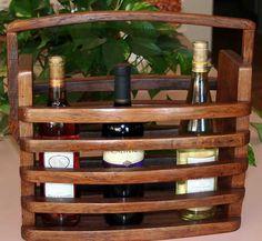 Wine Barrel Creations:  Wine Caddy