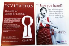 Very happy with work for Clarets Estate Agents! 20,000 A5 #leaflets!! All #printed to perfection ; )