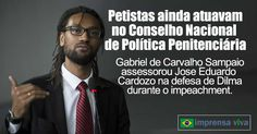 Os membros remanescentes do governo da ex-presidente Dilma rousseff que ainda integravam o Conselho Nacional de Política Criminal e Peni...