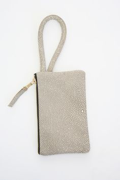 Lina Rennell Recycled Leather Clutch