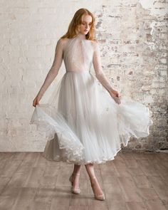 Top 30 Hottest Wedding Dresses: Guide To Every Silhouette ❤ hottest wedding dresses tea length with sleeves lace paolo_sebastian #weddingforward #wedding #bride #weddingoutfit #bridaloutfit #weddinggown