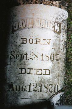 David Lawrence Ogden (1807 - 1870) - Find A Grave Photos