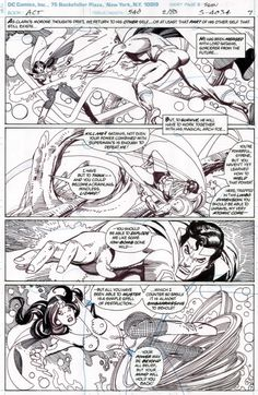 Action Comics #540 page 7 Comic Art