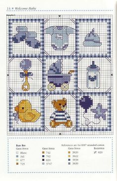 cross stitching pattern