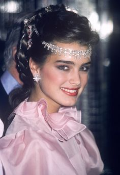 """Brooke Shields c. early 1980s (x) """