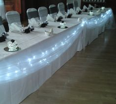 LaCoste & Ling Wedding: Wedding Projects #6: Head Table Decorations