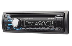 The Sony MEX-BT3100P is a great car stereo for the smartphone owner. It has wireless audio streaming and hands-free calling for $130. A lot of stereos have that