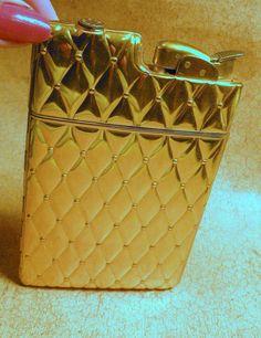 Vintage Evans Cigarette Case and Lighter by RosePetalResources, $58.00