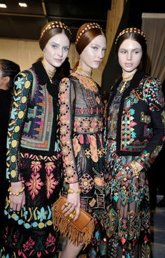 Ugh I love this collection so much   Valentino / SS 2014 / High Fashion / Ethnic & Oriental / Carpet & Kilim & Tiles & Prints & Embroidery Inspiration /