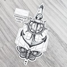 ⚓ Memories of a traveller - a custom dotwork tattoo design to symbolize a wonderful journey with its aspects and scents. Ideal for sternum, side, forearm or thigh area, and you have to be a true traveller; available on Skinque