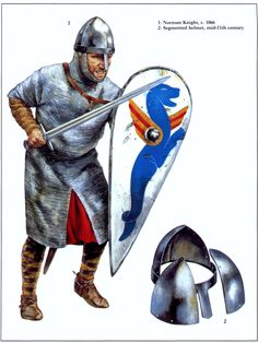 How Armor Works: Mail This is a very special submission that is a really, really in depth discussion of everything about mail (commonly referred to as chainmail). Armadura Medieval, Medieval Weapons, Medieval Knight, Norman Knight, Fantasy Figures, Templer, Medieval World, Early Middle Ages, Norse Vikings