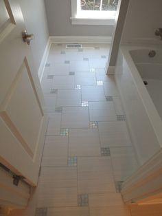 Bathroom floor?? #DIY