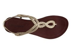 Adorable $40 sandals at DSW. . AND they come in 12!