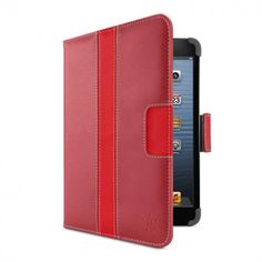 Belkin Striped Cover with Stand for iPad mini Red $49.99 at zenwer.com