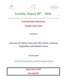 The #menu for tomorrow lunch at @imiswissroom in #Luzern #Switzerland