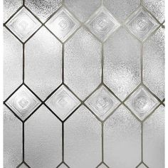 Artscape Old English W x L Old English Old English Privacy/Decorative Window Film at Lowe's. Artscape window films create the look of stained and etched glass. These thin, translucent films provide privacy while still allowing natural light to Bathroom Window Privacy, Bathroom Window Treatments, Privacy Glass, Bathroom Windows, Privacy Window Film, Window Cling Film, Basement Bathroom, Stained Glass Window Film, Leaded Glass