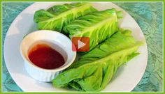 A Delicious Lettuce Wrap /Healthy Vegetarian/ 3 Recipes/+ PRINTABLE  RECIPE OF THE DAY---VIDEO----3 RECIPES