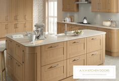 Timber Kitchen Doors and Drawers by avhkitchendoors