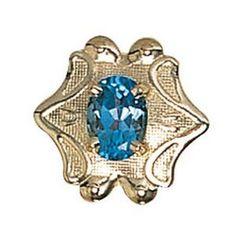 Blue+Topaz+Victorian+Bracelet+Slide+in+14k+White+or+Yellow+Gold+GS499-BT
